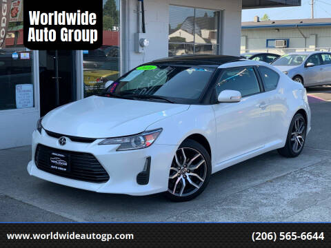 2016 Scion tC for sale at Worldwide Auto Group in Auburn WA