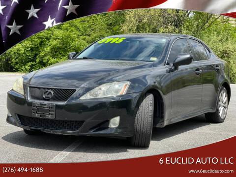 2008 Lexus IS 250 for sale at 6 Euclid Auto LLC in Bristol VA