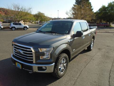 2016 Ford F-150 for sale at Team D Auto Sales in St George UT