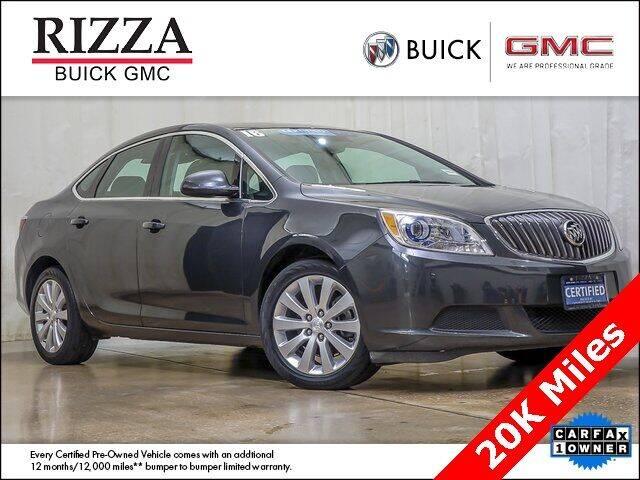 2016 Buick Verano for sale at Rizza Buick GMC Cadillac in Tinley Park IL