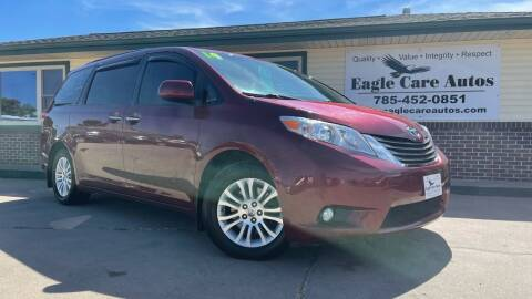 2014 Toyota Sienna for sale at Eagle Care Autos in Mcpherson KS