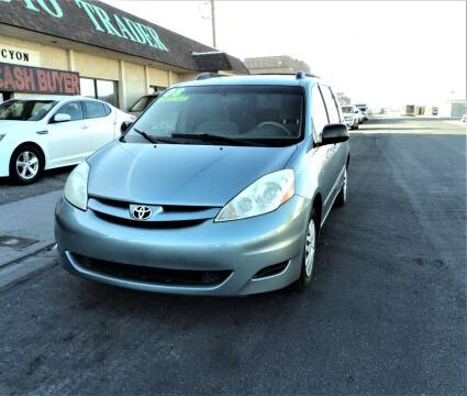 2008 Toyota Sienna for sale at DESERT AUTO TRADER in Las Vegas NV