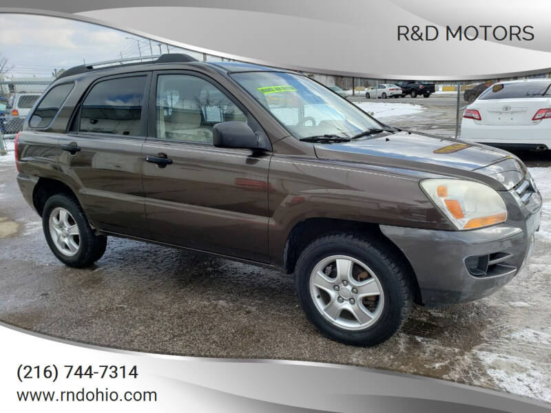 2007 Kia Sportage for sale at R&D Motors LLC in Cleveland OH
