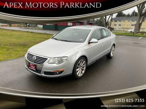 2008 Volkswagen Passat for sale at Apex Motors Parkland in Tacoma WA