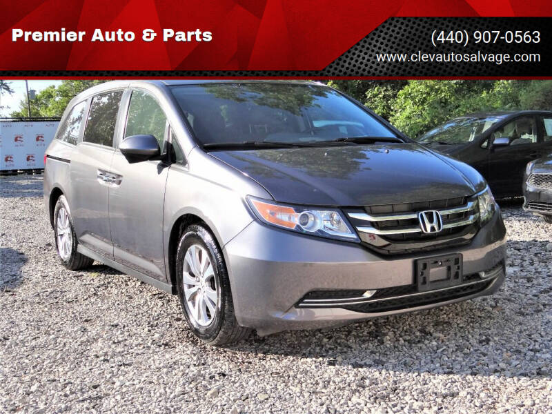2017 Honda Odyssey for sale at Premier Auto & Parts in Elyria OH
