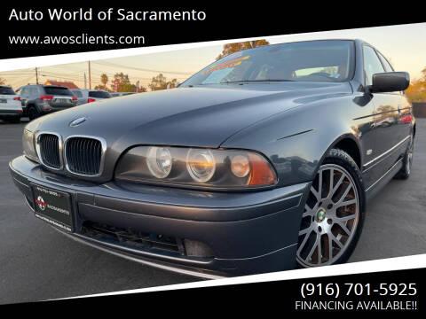 2001 BMW 5 Series for sale at Auto World of Sacramento Stockton Blvd in Sacramento CA