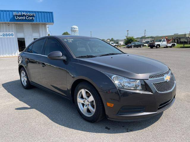2014 Chevrolet Cruze for sale at BULL MOTOR COMPANY in Wynne AR