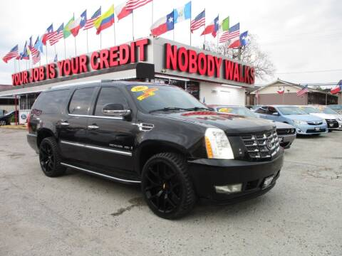 2007 Cadillac Escalade ESV for sale at Giant Auto Mart 2 in Houston TX