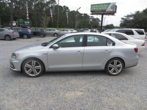 2016 Volkswagen Jetta for sale at Ward's Motorsports in Pensacola FL