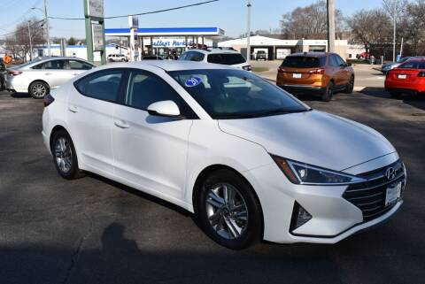 2020 Hyundai Elantra for sale at World Class Motors in Rockford IL