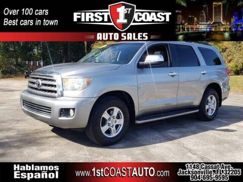 2008 Toyota Sequoia for sale at 1st Coast Auto -Cassat Avenue in Jacksonville FL