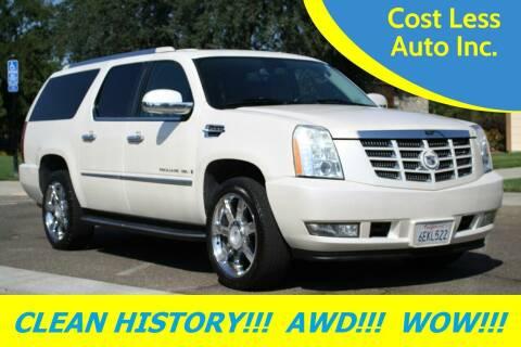 2008 Cadillac Escalade ESV for sale at Cost Less Auto Inc. in Rocklin CA
