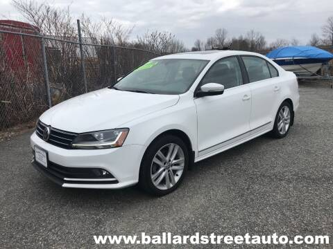 2017 Volkswagen Jetta for sale at Ballard Street Auto in Saugus MA