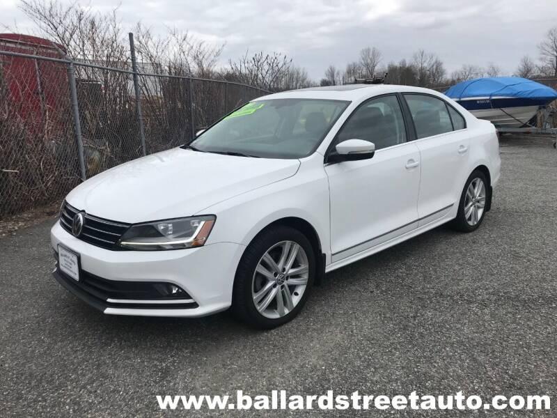 2017 Volkswagen Jetta for sale at Ballard Street Auto in Saugus MA