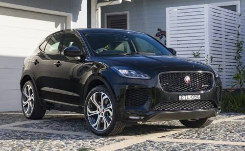 2018 Jaguar E-PACE for sale at Econo Auto Sales Inc in Raleigh NC