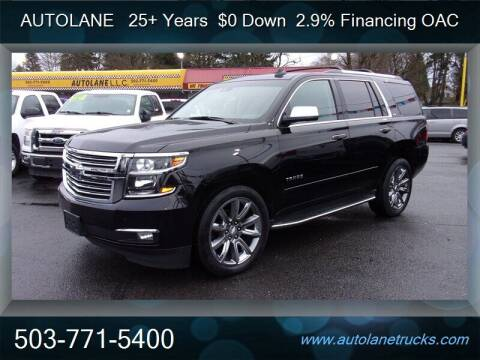 2015 Chevrolet Tahoe for sale at Auto Lane in Portland OR