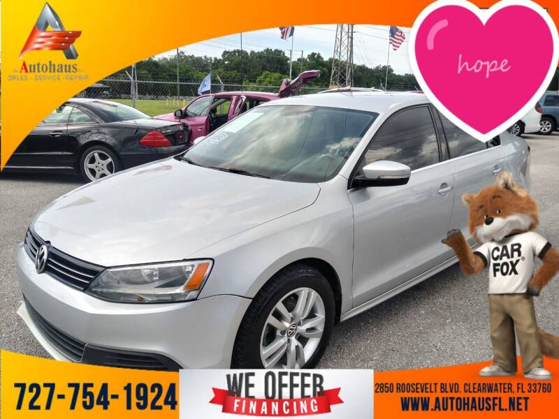 2013 Volkswagen Jetta for sale at Das Autohaus Quality Used Cars in Clearwater FL