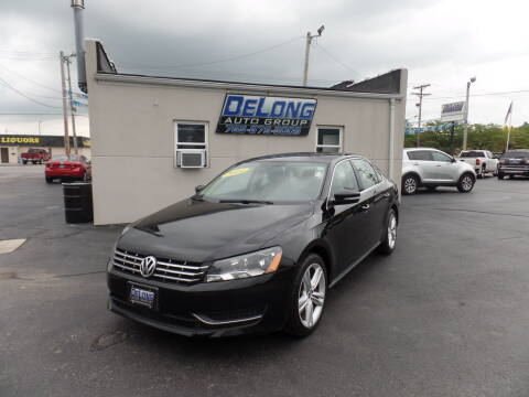 2014 Volkswagen Passat for sale at DeLong Auto Group in Tipton IN