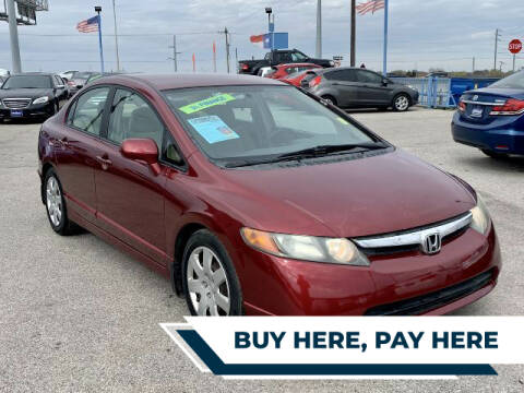 2008 Honda Civic for sale at Stanley Direct Auto in Mesquite TX