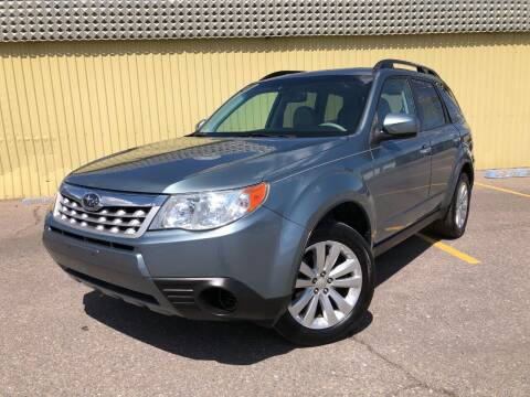 2011 Subaru Forester for sale at Summit Auto in Aurora CO
