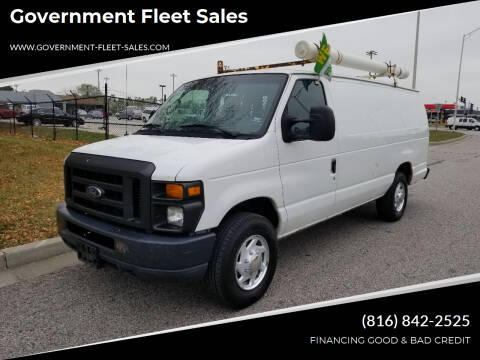 2010 Ford E-Series Cargo for sale at Government Fleet Sales in Kansas City MO