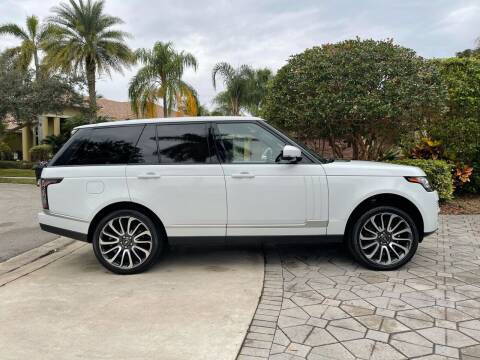 2016 Land Rover Range Rover for sale at Premier Auto Group of South Florida in Wellington FL