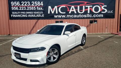 2017 Dodge Charger for sale at MC Autos LLC in Pharr TX