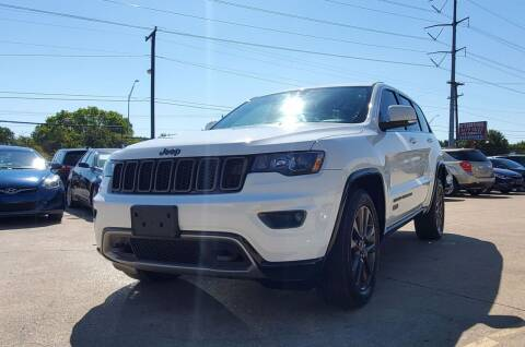 2016 Jeep Grand Cherokee for sale at International Auto Sales in Garland TX