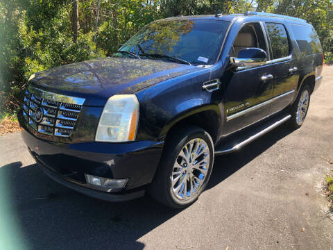 2007 Cadillac Escalade ESV for sale at Auto Cars in Murrells Inlet SC