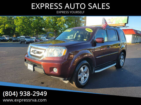 2009 Honda Pilot for sale at EXPRESS AUTO SALES in Midlothian VA