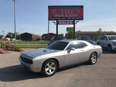2012 Dodge Challenger for sale at RAUL'S TRUCK & AUTO SALES, INC in Oklahoma City OK