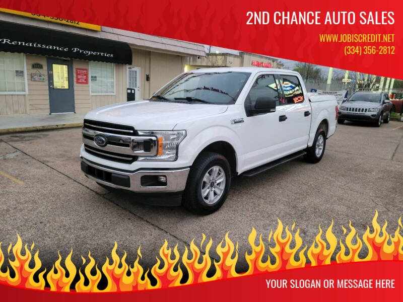 2018 Ford F-150 for sale at 2nd Chance Auto Sales in Montgomery AL