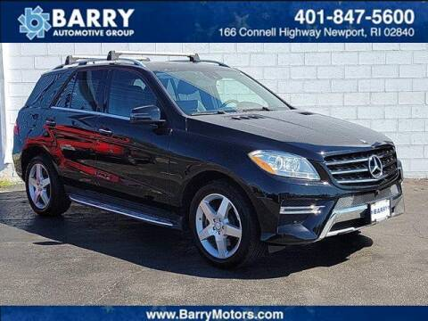 2015 Mercedes-Benz M-Class for sale at BARRYS Auto Group Inc in Newport RI