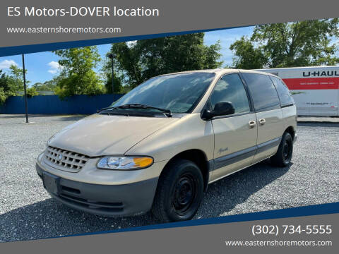 1999 Plymouth Voyager for sale at ES Motors-DAGSBORO location - Coming Soon in Dagsboro DE