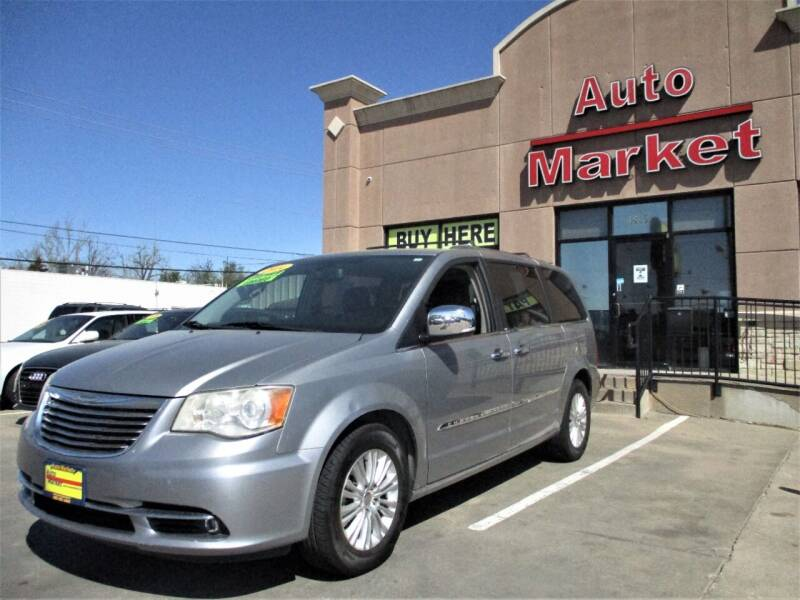 2014 Chrysler Town and Country for sale at Auto Market in Oklahoma City OK