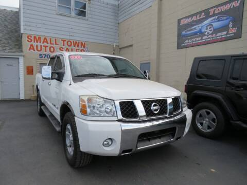 2006 Nissan Titan for sale at Small Town Auto Sales in Hazleton PA