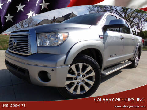 2010 Toyota Tundra for sale at Calvary Motors, Inc. in Bixby OK