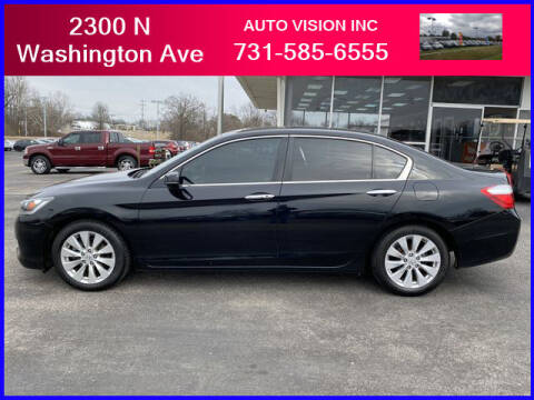2015 Honda Accord for sale at Auto Vision Inc. in Brownsville TN