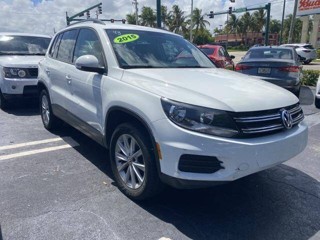 2015 Volkswagen Tiguan for sale at Mike Auto Sales in West Palm Beach FL
