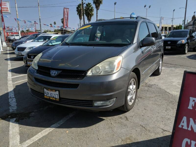 2005 Toyota Sienna for sale at Best Deal Auto Sales in Stockton CA