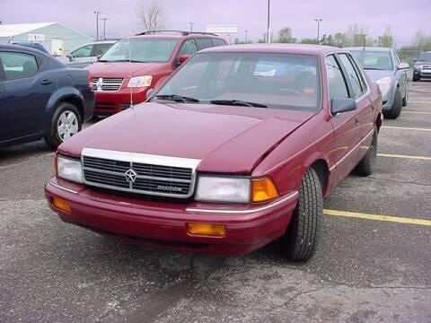 1992 Dodge Spirit for sale at VOA Auto Sales in Pontiac MI