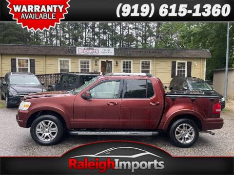 2010 Ford Explorer Sport Trac for sale at Raleigh Imports in Raleigh NC