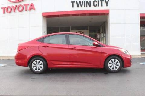2017 Hyundai Accent for sale at Twin City Toyota in Herculaneum MO