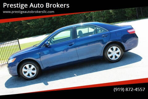 2009 Toyota Camry for sale at Prestige Auto Brokers in Raleigh NC