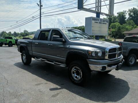 2006 Dodge Ram Pickup 3500 for sale at Route 22 Autos in Zanesville OH