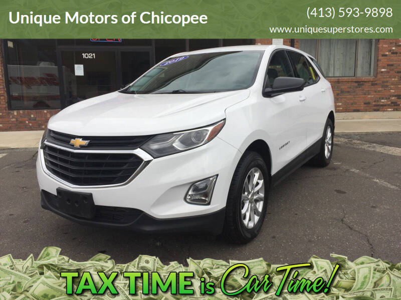 2019 Chevrolet Equinox for sale at Unique Motors of Chicopee in Chicopee MA