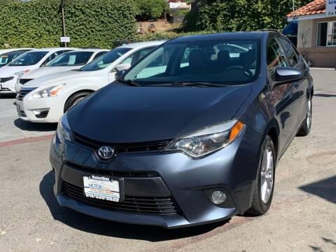 2015 Toyota Corolla for sale at MotorMax in Lemon Grove CA