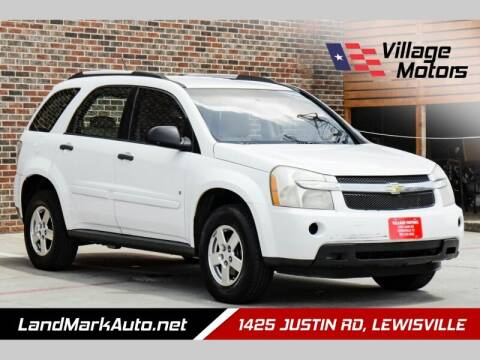 2009 Chevrolet Equinox for sale at Village Motors in Lewisville TX
