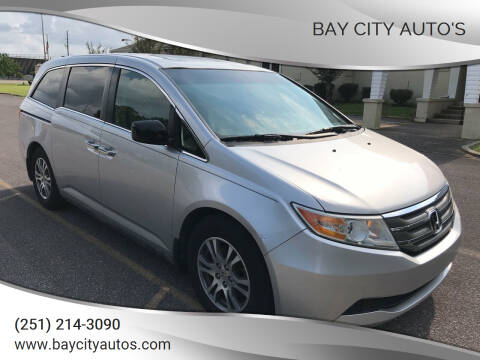 2012 Honda Odyssey for sale at Bay City Auto's in Mobile AL