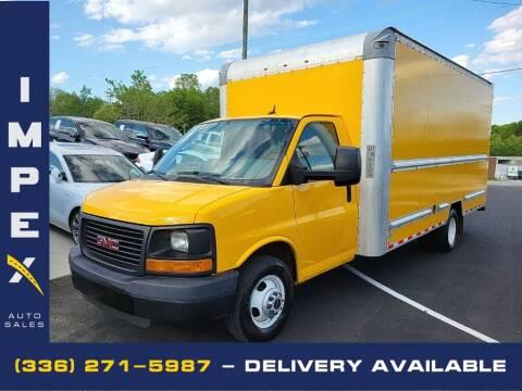 2015 GMC Savana Cutaway for sale at Impex Auto Sales in Greensboro NC